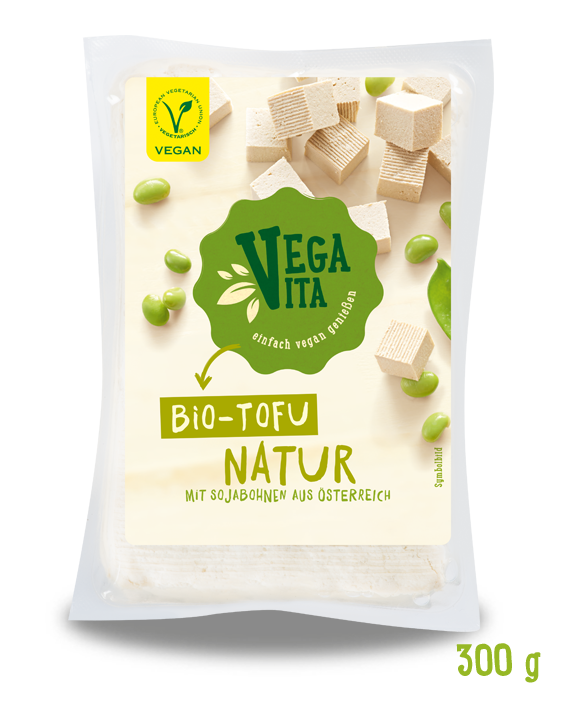 Bio Tofu Natur Großansicht | Vegavita