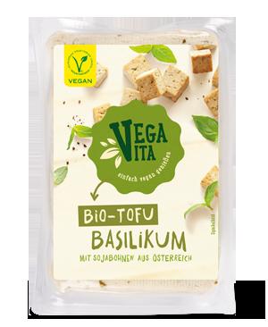 Bio Tofu Basilikum | Vegavita