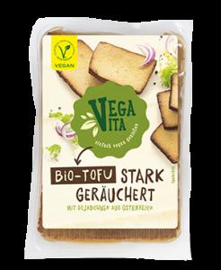 Bio Tofu stark geräuchert | Vegavita