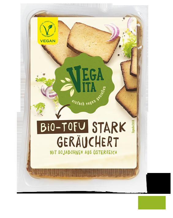 Bio Tofu stark geräuchert Großansicht | Vegavita