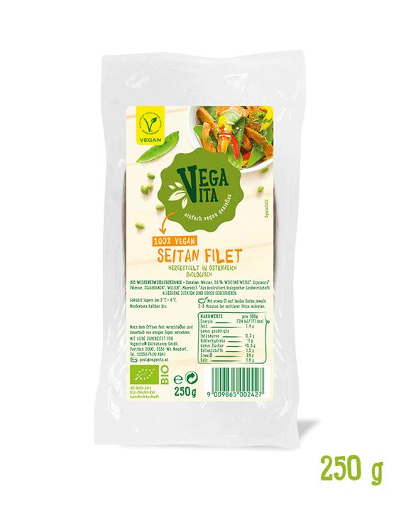 Seitan Filet Großansicht | Vegavita