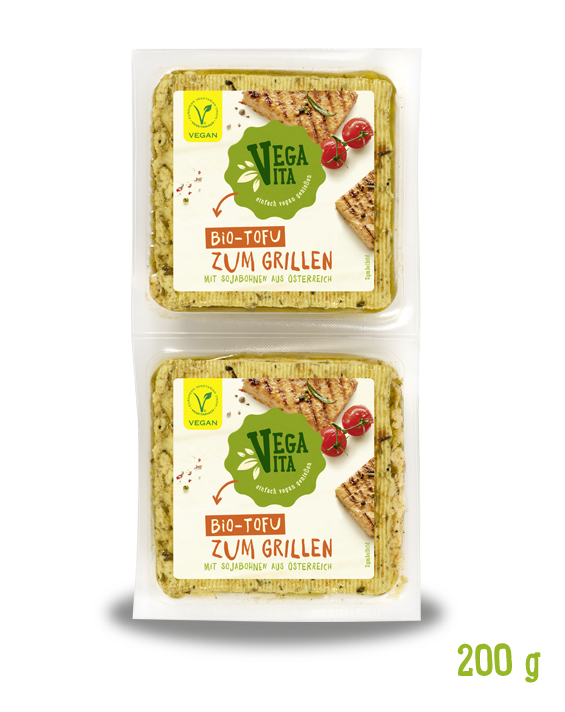 Bio Tofu Zum Grillen Großansicht | Vegavita