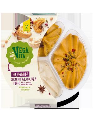 Hummus Orientalisches Trio | Vegavita