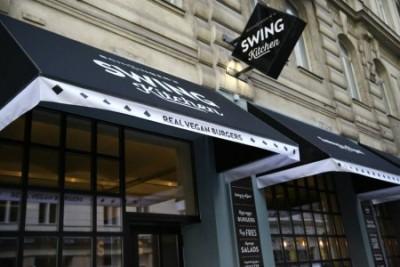 Swing Kitchen von außen