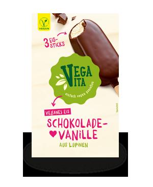 Schokolade Vanille Eissticks | Vegavita