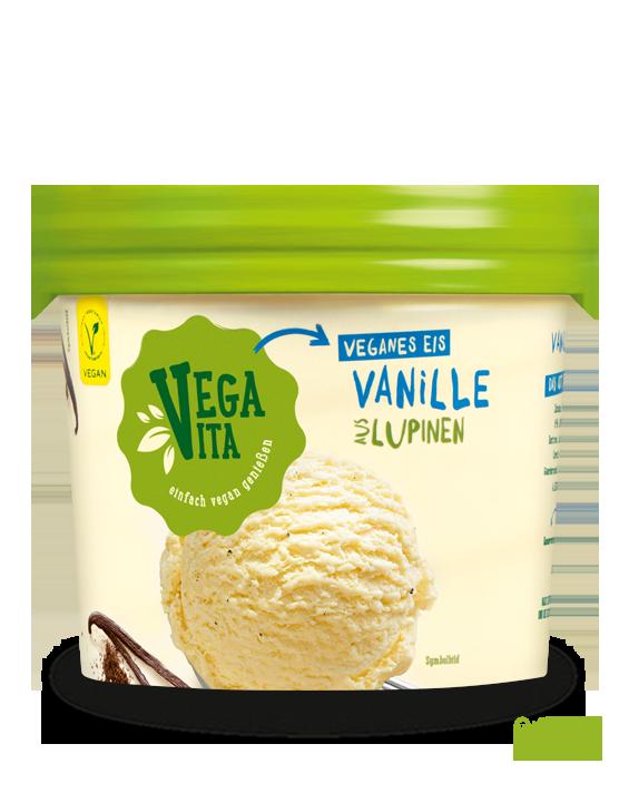 Vanilleeis aus Lupinen | Vegavita