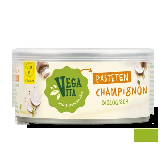 Champignon Pastete Großansicht | Vegavita