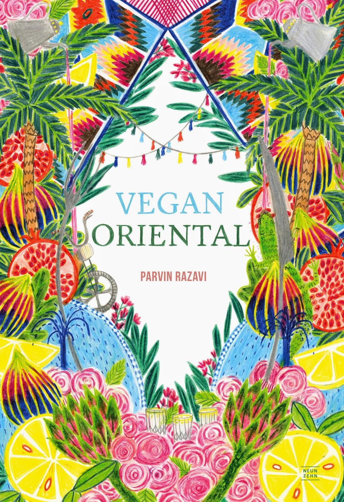 Vegan Oriental von Parvin Razavi Cover