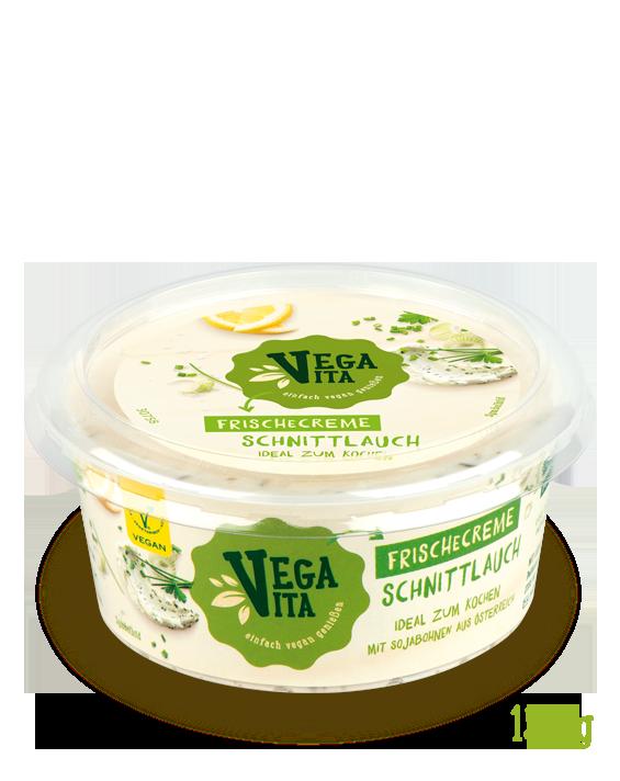 Frischecreme Schnittlauch Großansicht | Vegavita