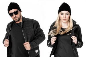 Kork Erstaz für Leder: Jacke von Bleed