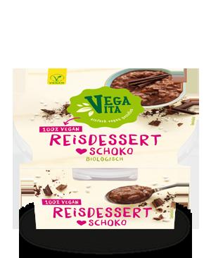 Reisdessert Schoko | Vegavita
