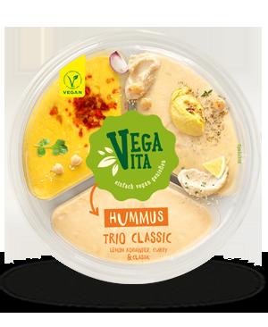 Hummus Trio Classic | Vegavita