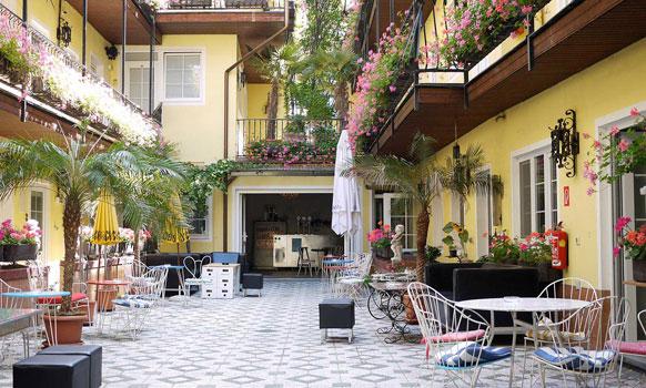 Hotel am Brillantengrund Garten