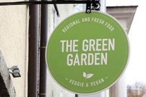 The Green Garden Schild