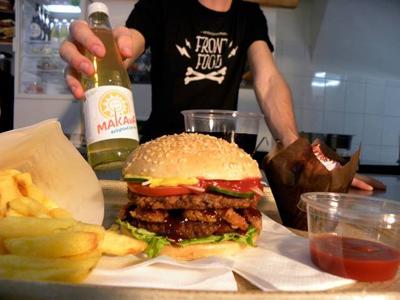 Front Food Burger
