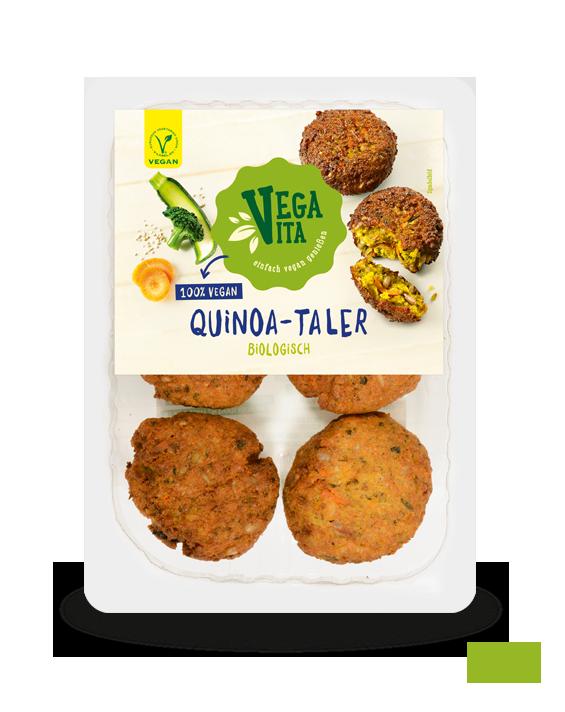 Quinoa-Taler Großansicht | Vegavita