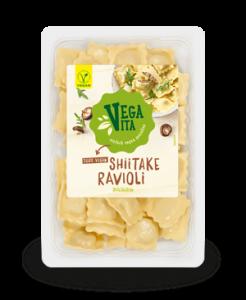 Shiitake Ravioli | Vegavita