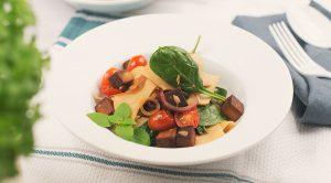 Vegane Pasta mit Knuspertofu Preview