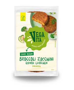 Broccoli Zucchini Quinoa Laibchen | Vegavita