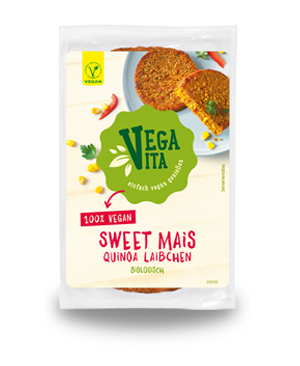 Sweet Mais Quinoa Laibchen
