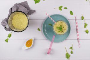 Die besten 3 Reis- und Mandeldrink Rezepte Matcha Shake