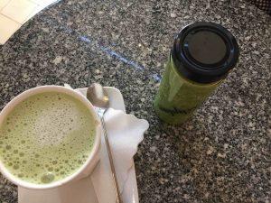 Simply Raw Bakery Matcha Latte