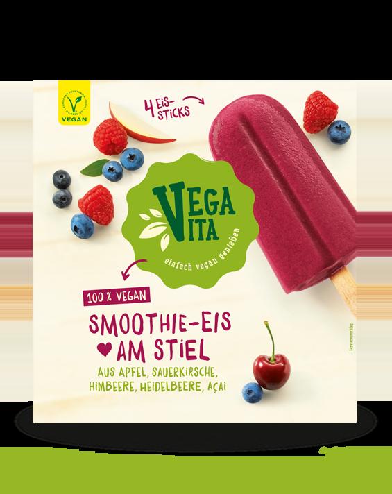 Smoothie Eis am Stiel Großansicht | Vegavita