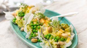 Vegane Woche Reissalat