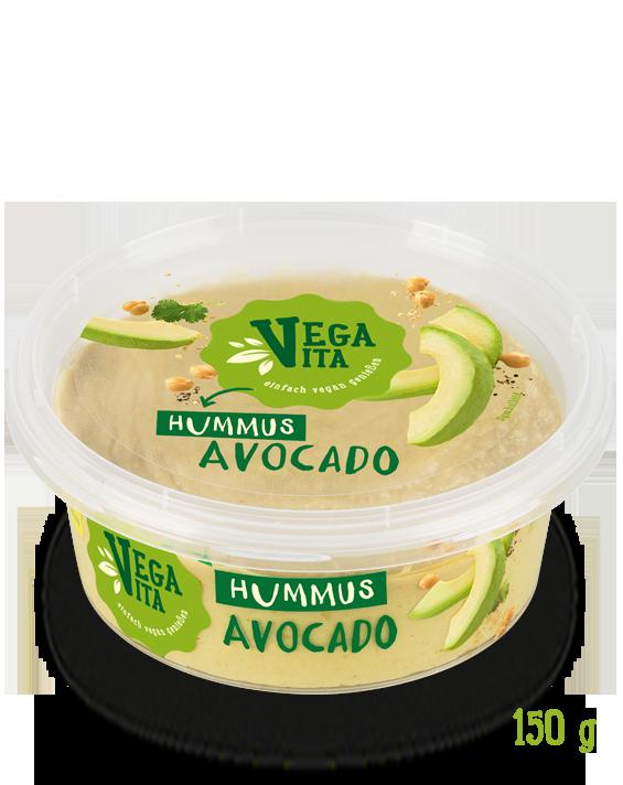 Hummus Avocado Großansicht | Vegavita