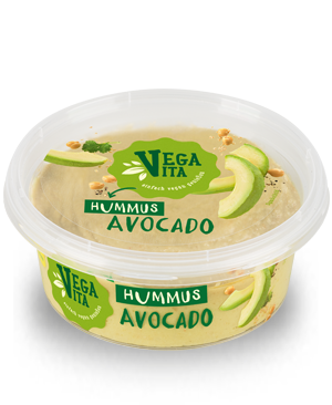 Hummus Avocado | Vegavita