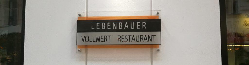 Lebenbauer Schild