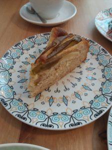 Café Ausnahmsweise Mandel-Birnen-Torte