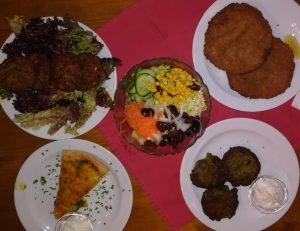 Auszug vegane Gerichte