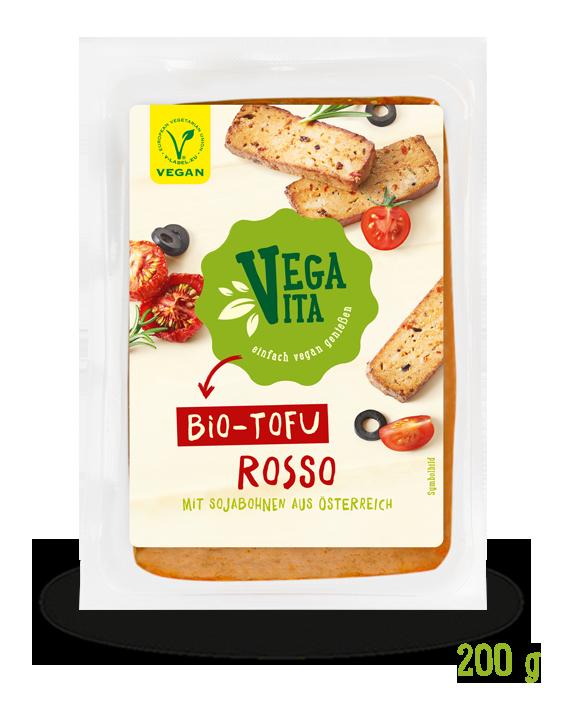 Tofu Rosso | Vegavita Großansicht