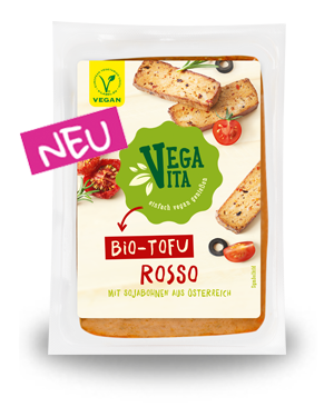 Tofu Rosso | Vegavita