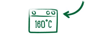 Backofen 160 Grad