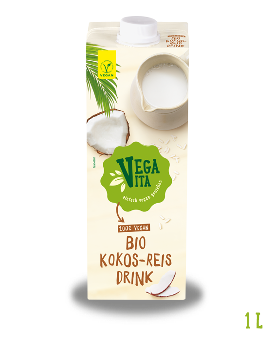 Kokos Reis Drink