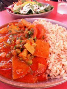 Lokalreview Karma Food Tandoori-Veggie Curry