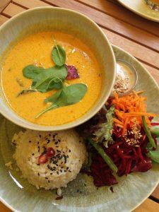Lokalrerview Secret Garden Speisen