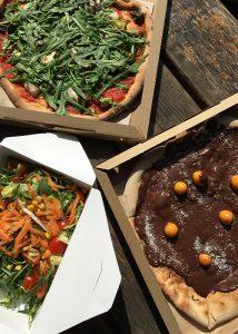 Lokalreview Bio-Pizzeria Vero Speisen